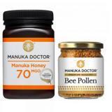 源自新西兰的国宝级保健,麦卢卡蜂蜜,500g 70 MGO Active,原价£55.99,<tag>折后£27.99</tag>,还送蜂花粉,养胃+养颜,还能提高免疫力