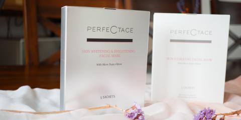 Perfectace最新的美白提亮面膜测评