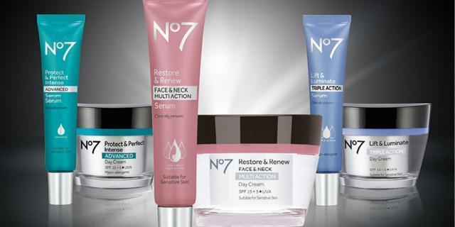 2018英国国民护肤品牌 No7 十大明星产品测评